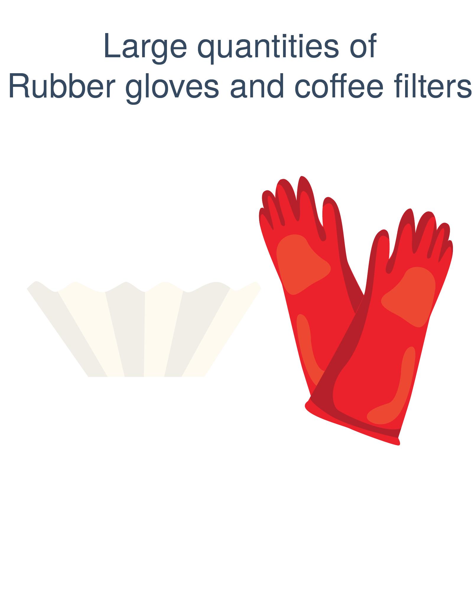 honest broker coffee filters gloves