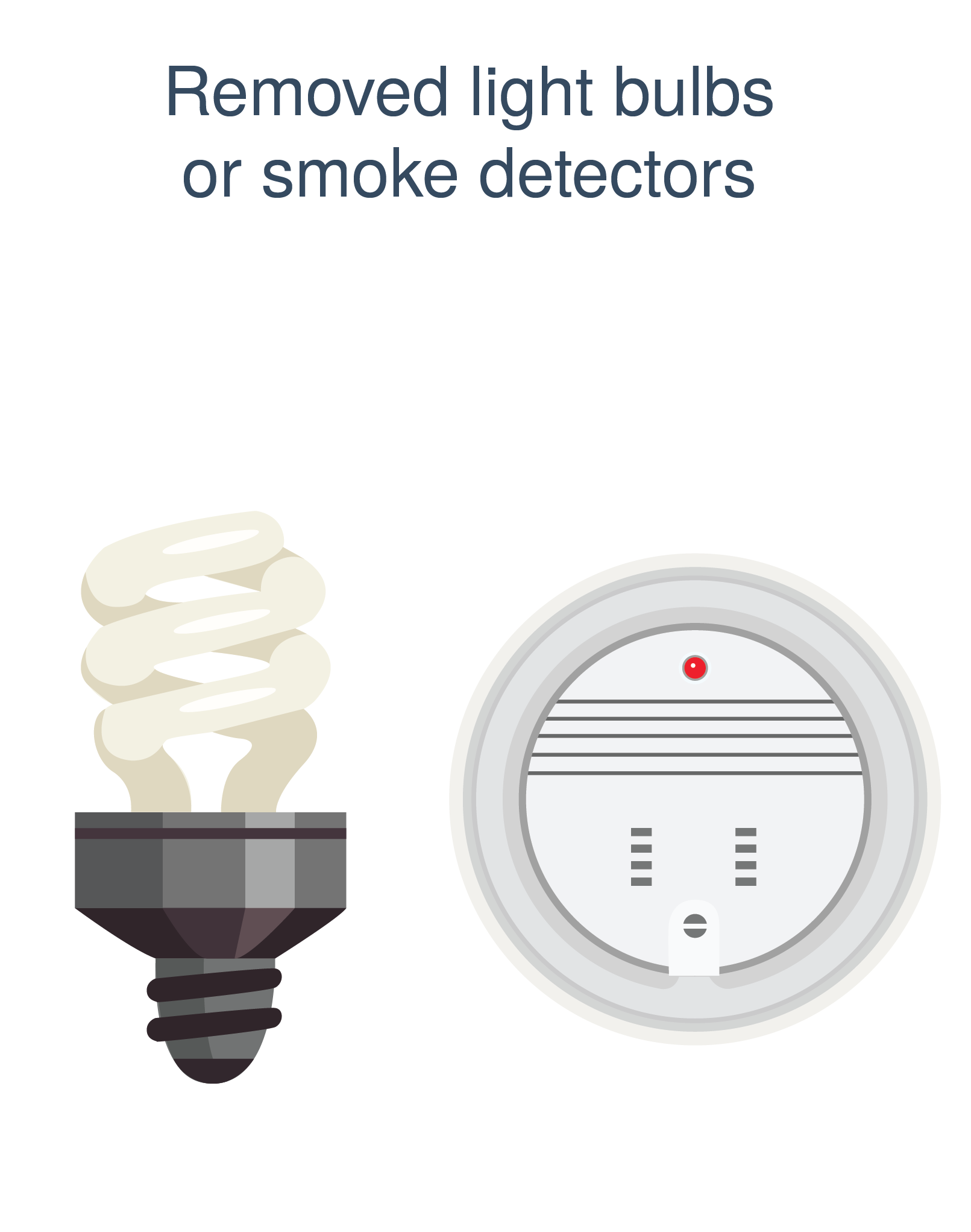 honest broker light bulbs smoke detector